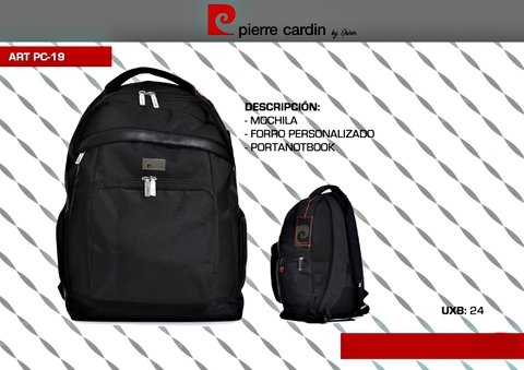 PC-19 MOCHILA / PORTANOTEBOOK