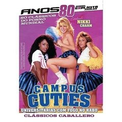 DVD Porno Campus Cuties Universitárias Com Fogo No Rabo Explícita