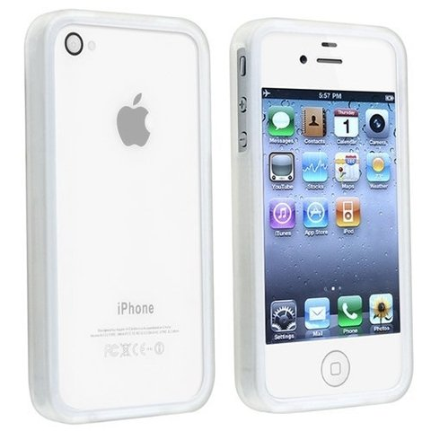 Bumper iPhone 4/4s Crystal Soft