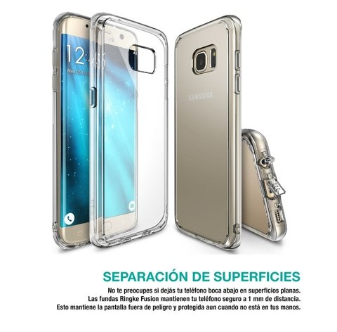 Funda RingKe Fusion Samsung Galaxy S7 EDGE Crystal View en internet