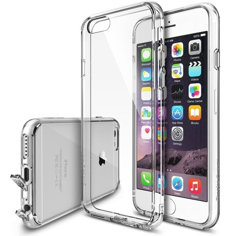Funda RingKe Fusion iPhone 6 6S Crystal View