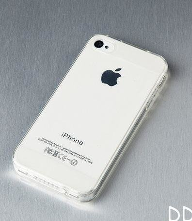Funda TPU Soft Transparente iPhone 4/4S - comprar online