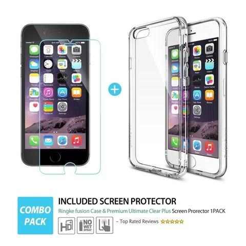 Funda RingKe Fusion iPhone 6 6S Crystal View - tienda online