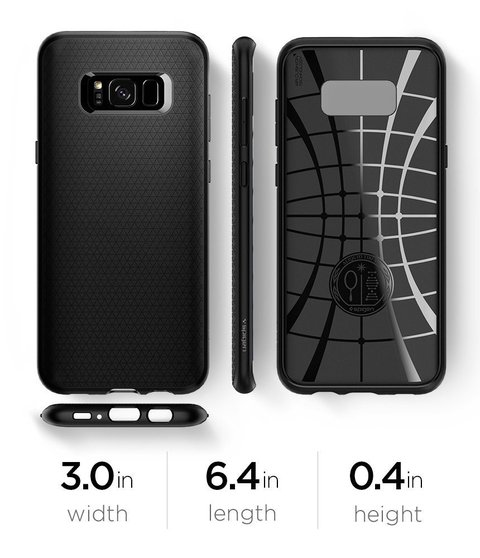 Funda Liquid Air Armor Galaxy S8 Plus Spigen ® Original - comprar online