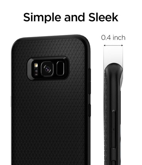 Funda Liquid Air Armor Galaxy S8 Plus Spigen ® Original - tienda online