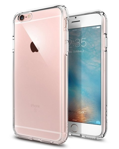 Funda SPIGEN Ultra Hybrid Crystal iPhone 6s 6 - Full Action