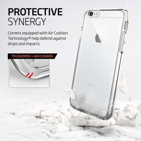 Funda SPIGEN Ultra Hybrid Crystal iPhone 6s 6 - tienda online