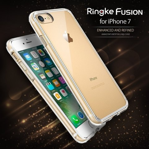 Funda RingKe Fusion iPhone 7 8 Crystal View en internet
