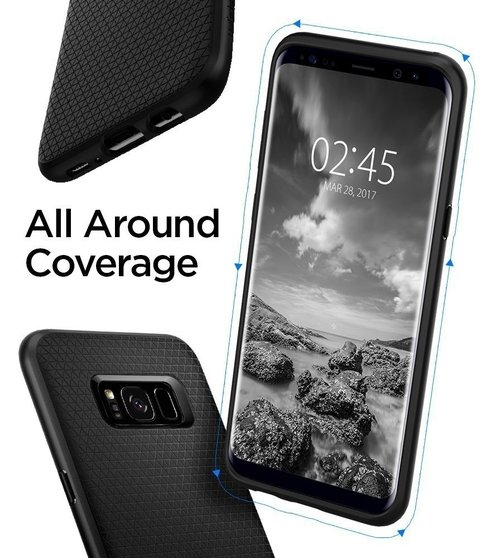 Funda Liquid Air Armor Galaxy S8 Plus Spigen ® Original