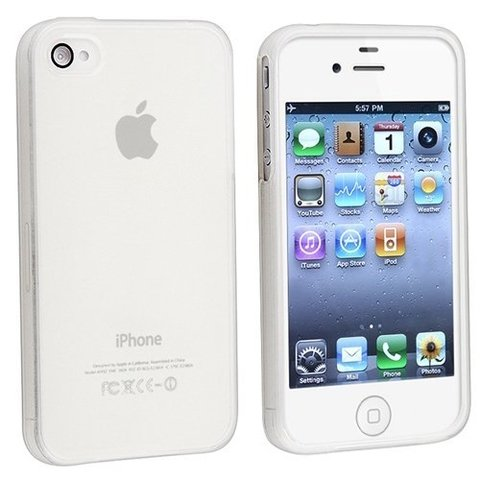 Funda iPhone 4/4s Crystal Clear en internet