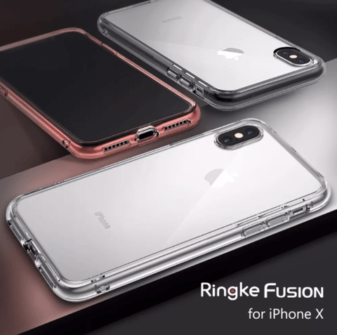 Funda RingKe Fusion iPhone X Crystal View - comprar online