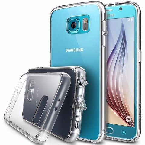 Funda RingKe Fusion Samsung Galaxy S6 PLUS Crystal View