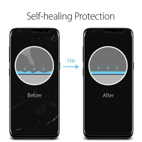 Film Protector Galaxy S8 Spigen ® Original Pack x2 - Full Action