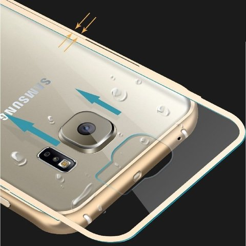 Bumper de Aluminio Samsung Galaxy S6 Edge - Full Action