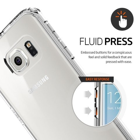 Funda Galaxy S6 Edge Spigen ® Original Ultra Hybrid en internet