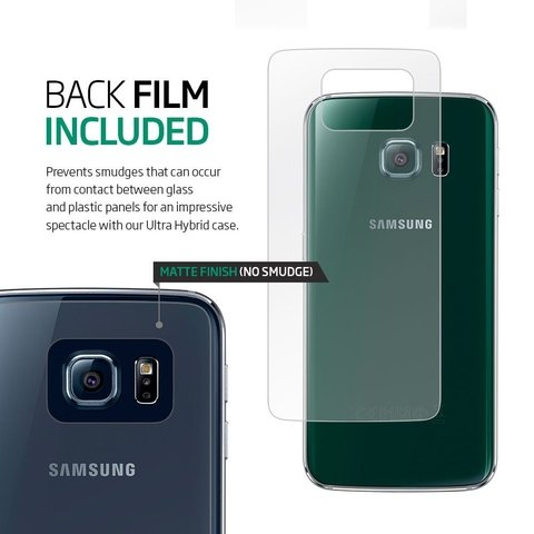 Funda Galaxy S6 Edge Spigen ® Original Ultra Hybrid