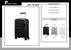 Valija Chica Pierre Cardin De Cabina Rigida Avion Carry On