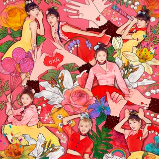 OH MY GIRL - 4th Mini Album [COLORING BOOK]