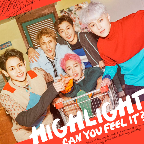 HIGHLIGHT - 1st Mini Album [CAN YOU FEEL IT?]