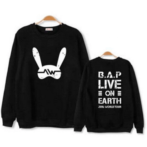 B.A.P BLUSA LIVE ON EARTH 2016