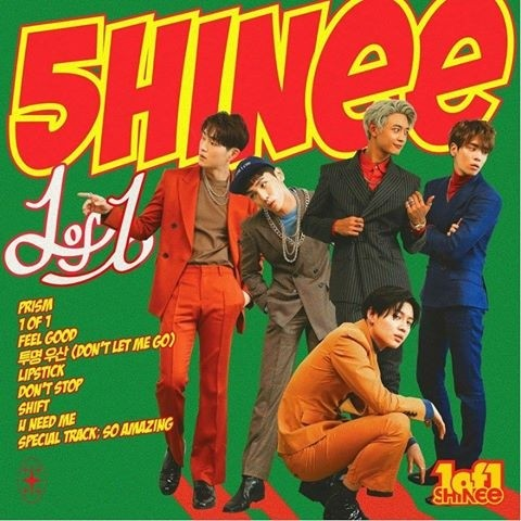 SHINEE - 5th album [1 OF 1]