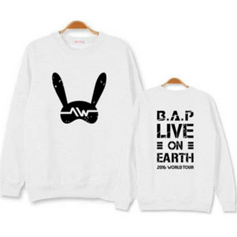 B.A.P BLUSA LIVE ON EARTH 2016 - comprar online