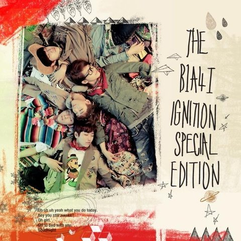 B1A4 - 1st Album Special Edition [IGNITION]