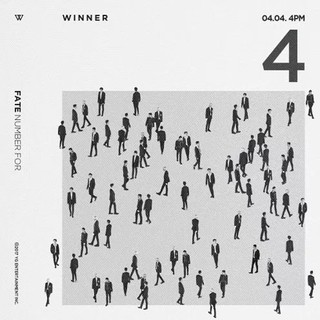 WINNER - Single Album [FATE NUMBER FOR] (Random)