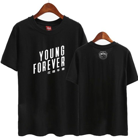 BTS CAMISETA YOUNG FOREVER
