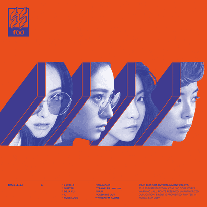 F(X) - 4th Album [4 WALLS]