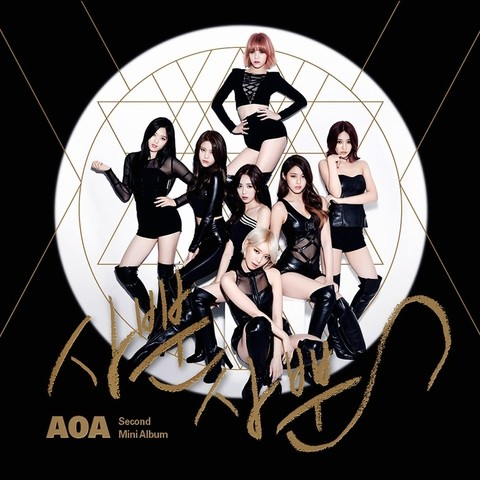 AOA - 2nd Mini Album [LIKE A CAT]