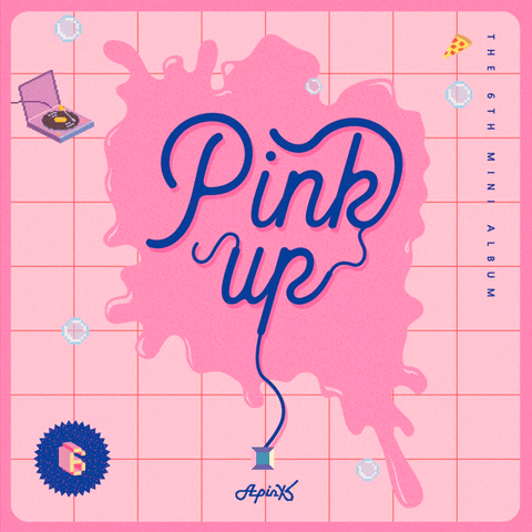APINK - 6th Mini Album [PINK UP] (Random)