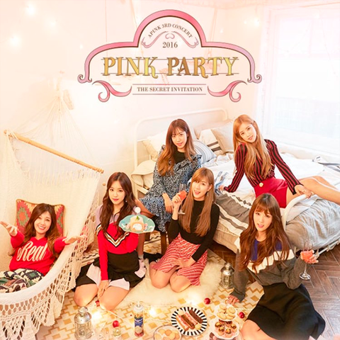 APINK - DVD [APINK 3RD CONCERT : PINK PARTY]