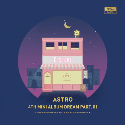 ASTRO - 4th Mini Album [DREAM PART.01] - comprar online
