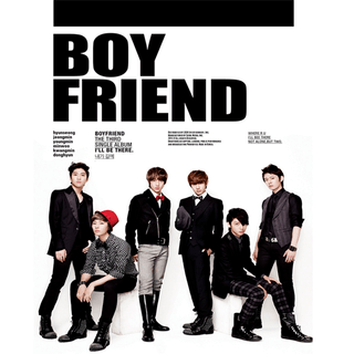 BOYFRIEND - 3rd Single Album [I'LL BE THERE]