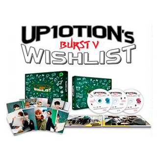 UP10TION - DVD UP10TION's Wishlist [BURST V]