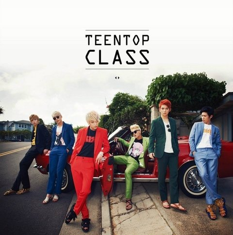 TEEN TOP - 4th Mini Album [CLASS]
