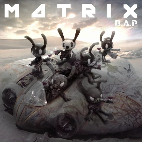 B.A.P - 4th Mini Album [MATRIX] (Normal Ver.)