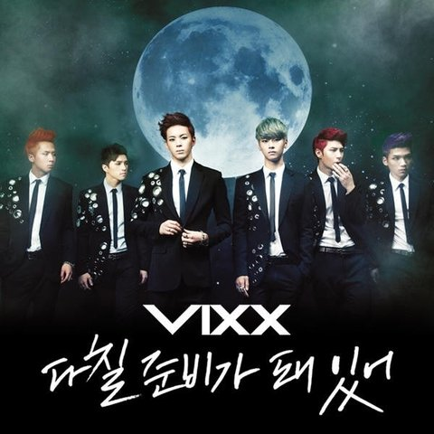 VIXX - 3rd Single [READY TO GET HURT]