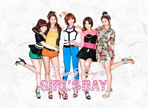 GIRL'S DAY - 2nd Mini Album [EVERYDAY II]