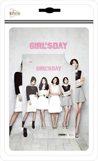 GIRL'S DAY - Kihno Album [I MISS YOU] (Smart Music Card)
