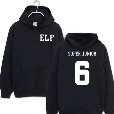 SUPER JUNIOR MOLETOM ELF