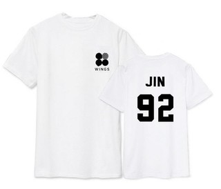 BTS CAMISETA WINGS