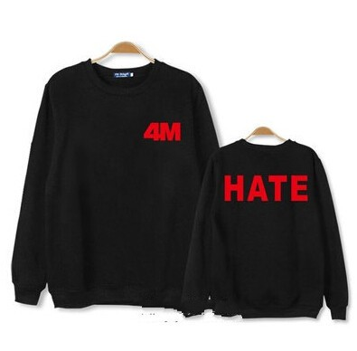 4MINUTE BLUSA HATE na internet