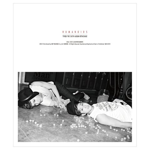 TVXQ - 6th Album Repackage [HUMANOIDS]