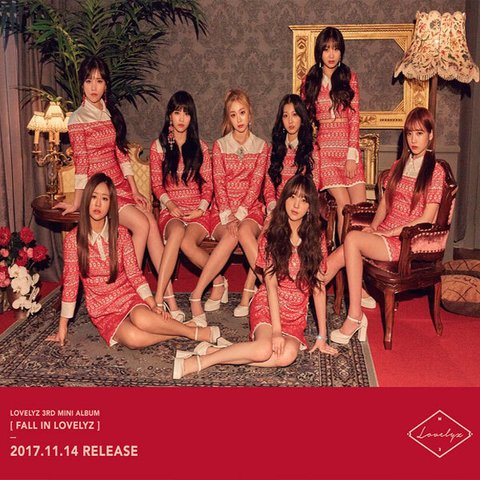 LOVELYZ - 3rd Mini Album [FALL IN LOVELYZ]