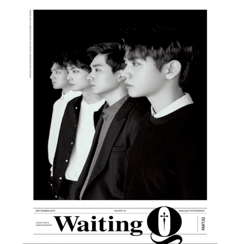 NU'EST W - First Tabloid Photobook [WAITING Q]