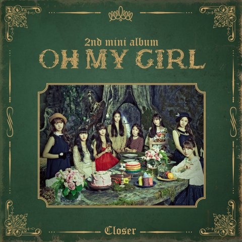 OH MY GIRL - 2nd Mini Album [CLOSER]