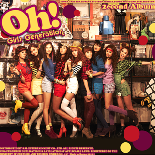 GIRLS' GENERATION - 2nd Album [OH!]