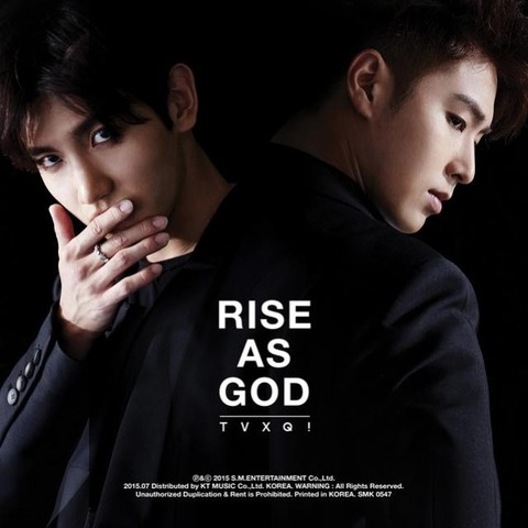 TVXQ - Special Album [RISE AS GOD]